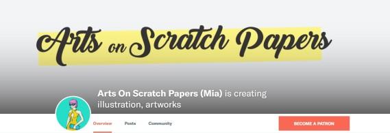www.patreon.com/artsonscratchpapers